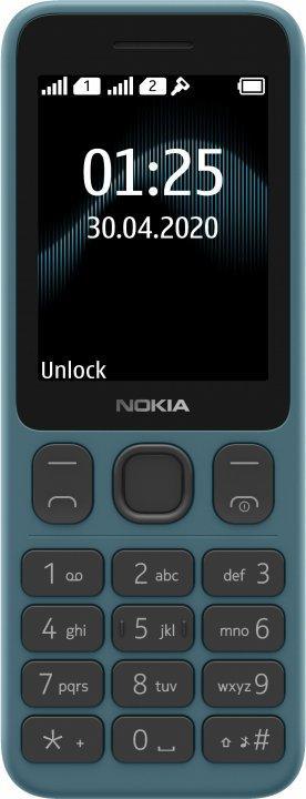 Мобильный телефон Nokia 125 TA-1253 DualSim Blue