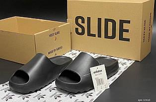 Шлепанцы женские Adidas Yeezy Slide, черные