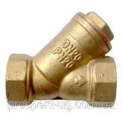 Фильтр осадочный муфтовый ду20 бронзовый