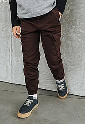 Детские штаны Staff cargo baf brown коричневый FFK0218