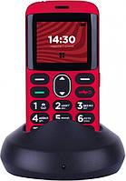 Мобильный телефон Ergo R201 Dual Sim Red, фото 1