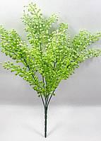 """Куст со светло зелеными ягодами """"шикша""""34см, искусственный  куст с декоративными ягодами, фото 1"""