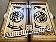 """Шахи-нарди-шашки 3 в 1 """" Дракони Інь - Янь """", ручна робота, фото 4"""