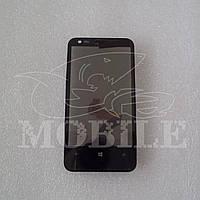 Сенсор Nokia 620 Lumia в рамке black