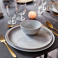 Сервиз столовый серый мрамор Luminarc Diwali Marble 19пр