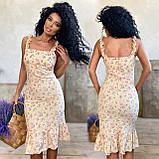 Платье женское летнее  софт 42-44, 46-48 разные цвета, фото 2