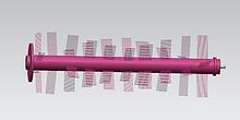 Щетка Mamibot Main Brush Set для Mamibot PreVac650