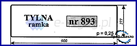 Стекло Deutz-Fahr AgroXtra 3.57 4.07 4.17 4.47 4.57 6.07 6.17 заднее нижнее