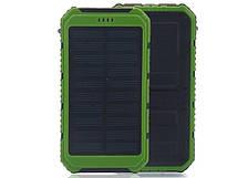 SOLAR POWER BANK 15000MAH. ПОВЕР БАНК 10000. ПОРТАТИВНОЕ ЗАРЯДНОЕ ОТ Stone power