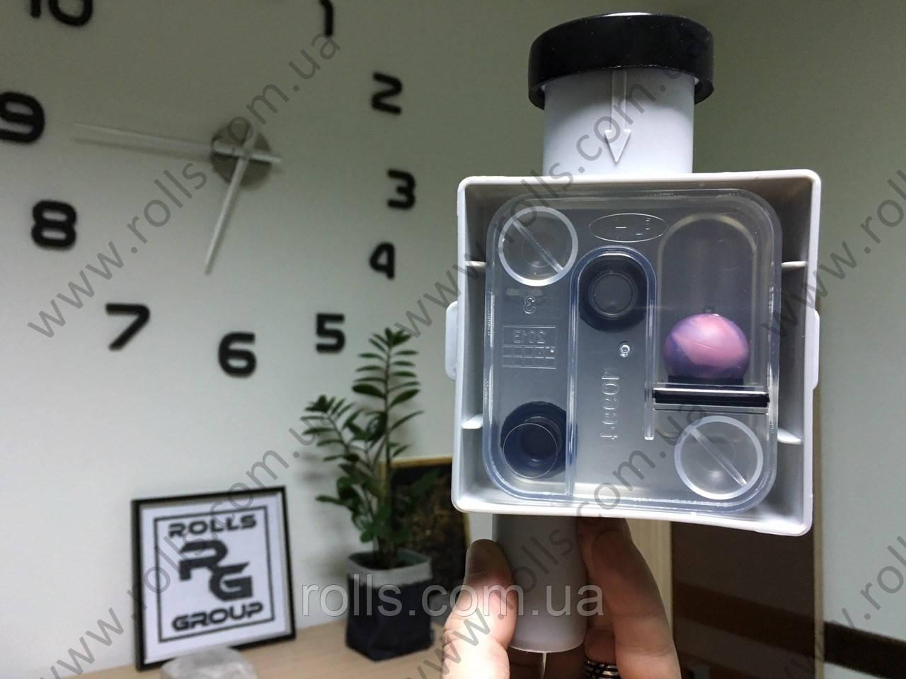 HL138 Встроенный сифон для кондиционеров и фанкойлов, DN32мм, скрытая установка, для сброса дренажа