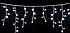 Новорічна світлодіодна гірлянда 120P є icicle W Бурулька ( 120 світлодіодів ) Колір білий, фото 3