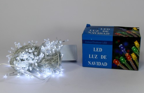 Светодиодная новогодняя гирлянда LED 200 W ( 200 светодиодов ) Цвет белый