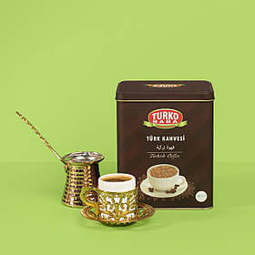 Турецкий кофе мелкого помола для варки в турки TurkoBaba