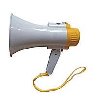 Мегафон громкоговоритель рупор с сиреной RD-8S