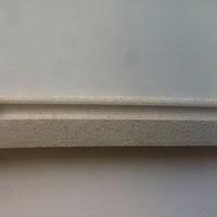 Плинтус пробковый белый  P 60 white 900*60*15 мм