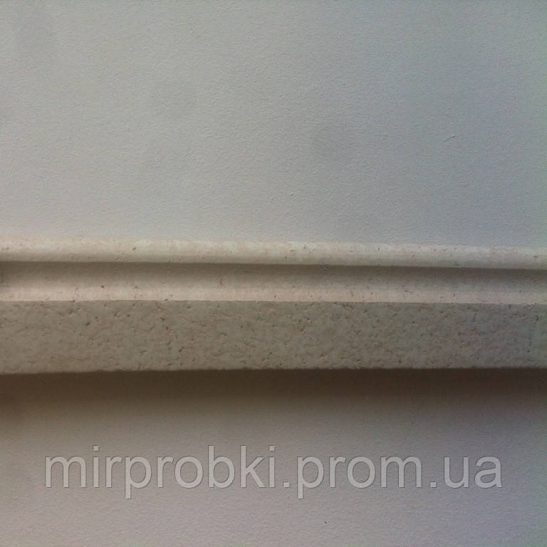 Плинтус пробковый белый  P 60 white 900*60*15 мм  - МИР ПРОБКИ в Киеве