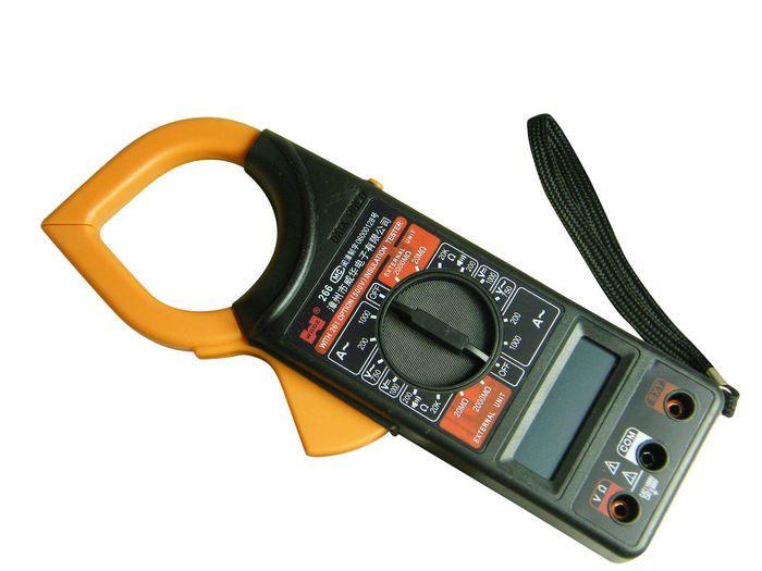 Мультиметр тестер DT 266, токовые клещи, мультиметр цифровой универсальный