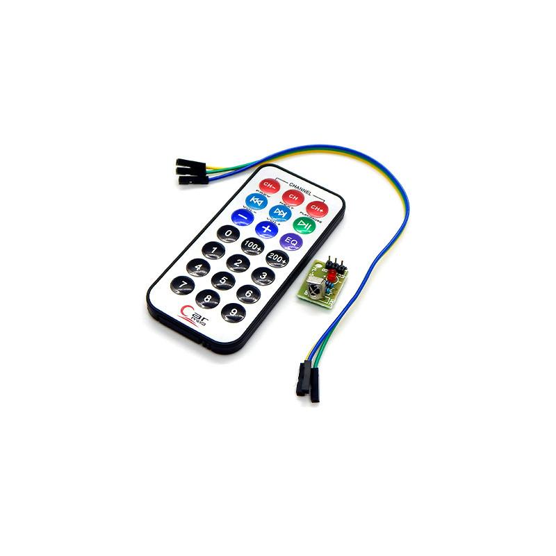 Модуль дистанционного управления Ардуино ИК приемник HX1838 + пульт 21 кнопка