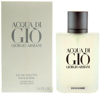 Чоловіча туалетна вода Giorgio Armani Acqua di Gio pour homme(Аква Ді Джіо Пур Хом) 100 мл