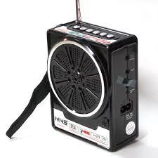 Бумбокс MP3 Колонка Радио NS-048 ремешок на руку