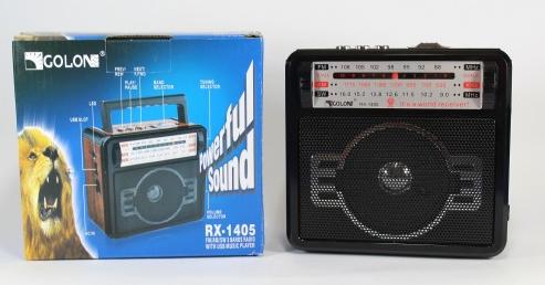 Радіоприймач Колонка MP3 USB RX 1405