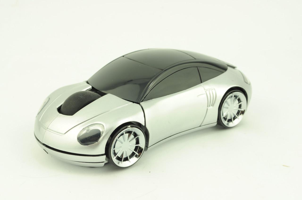 Миша бездротова комп'ютерна MT-W17 USB срібло