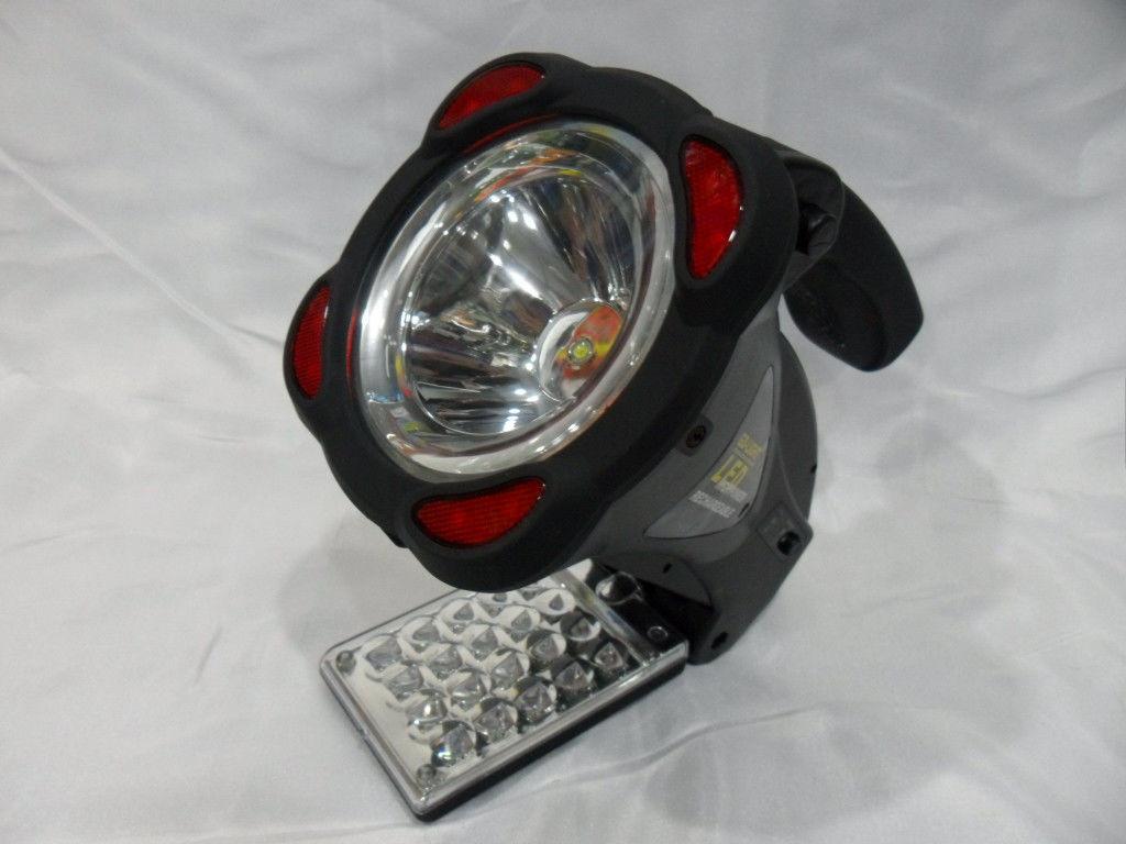 Фонарь светодиодный GD-3501 с сигнальным маяком