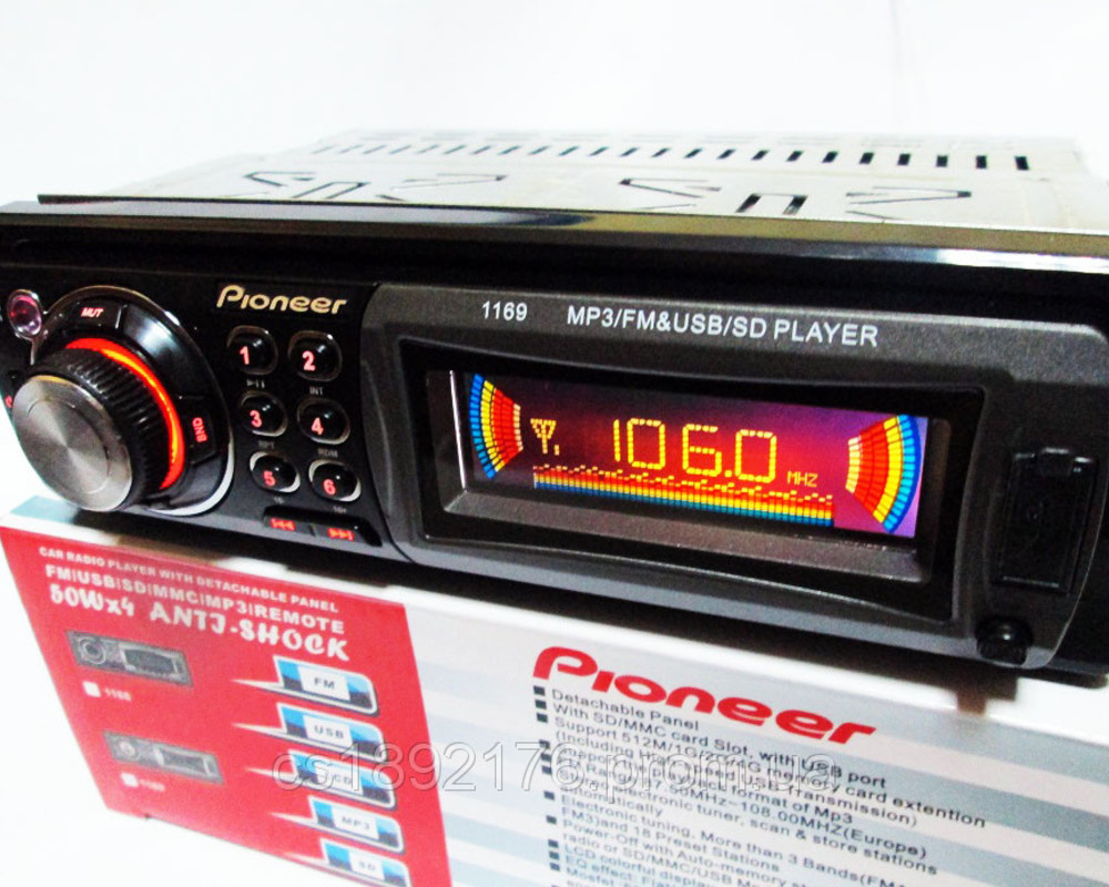 Автомагнітола Pioneer 1169 USB