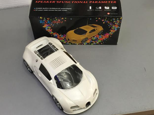 Портативна колонка машина Bugatti wsl-0001