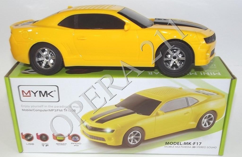 Портативные колонки машина Mustang mk-f17