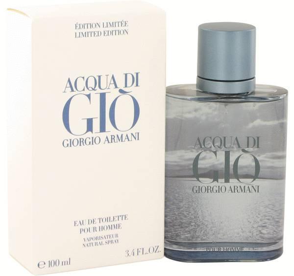 Мужская туалетная  вода Giorgio Armani Acqua di Gio Blue Edition Pour Homme ( Аква Ди Джио Блу Эдишн) 100 мл