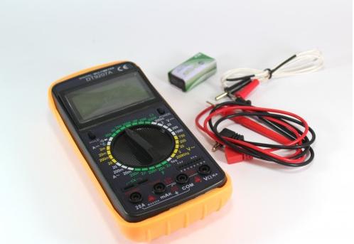 Мультиметр-тестер цифровий DT 9207A 1001080