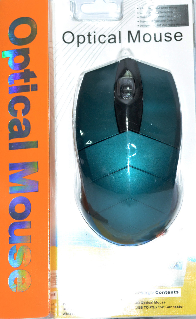 Мышь компьютерная проводная MA-MTA78#синий