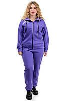 ✔️ Женский костюм спортивный Элис трехнитка большого размера 48-54 разные расцветки