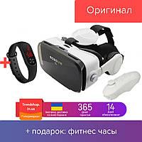 Очки виртуальной реальности для смартфона с пультом VR Z4 3D очки виртуальные с джойстиком