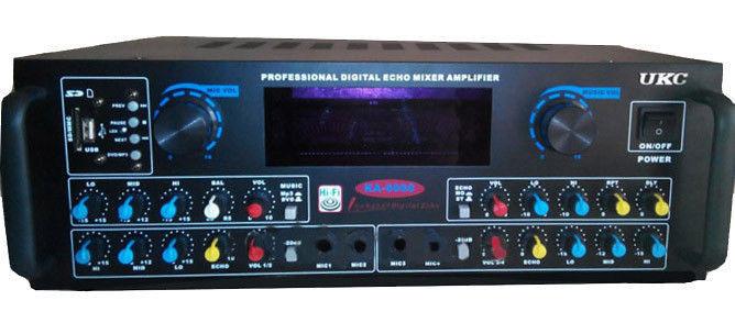 Підсилювач звуку AMP KA6060 FM Підсилювач потужності