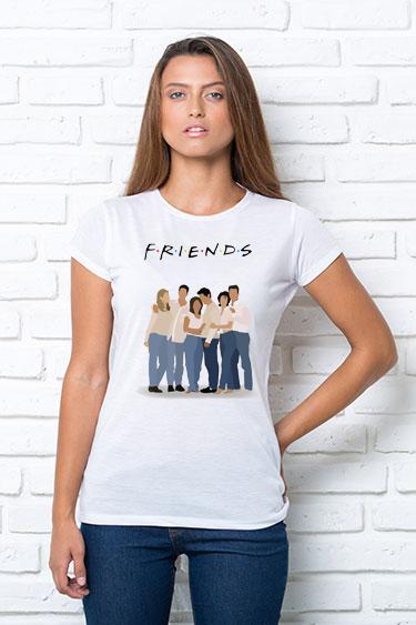 Женская футболка FRIENDS, жіноча футболка FRIENDS