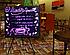 FLUORECENT BOARD 30*40 Светящийся борд. LED доска Fluorecent Board. Доска для маркера, фото 3