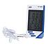 Термометр, Гігрометр Годинник виносний датчик КТ-908, фото 4
