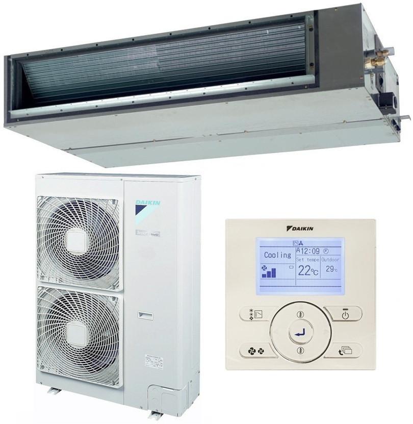 Канальний інверторний кондиціонер Daikin FBQ100C8/RZQG100L8V1