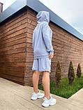 Костюм женский с шортами Турция   50-52, 54-56 мокко, меланж, фото 6