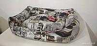 Лежак Premium в ткани Антикоготь 70х50см, Лежаки, лежак, лежак для кошки, лежак для собак, фото 2