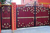 Виды кованных деталей для ворот