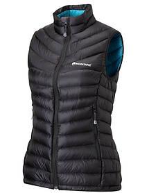 Жилетка Montane Female Featherlite Down Vest Black