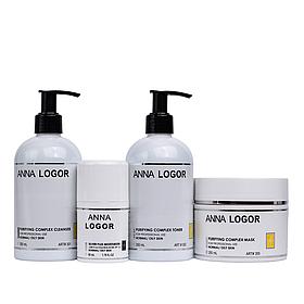 Набор косметики Anna LOGOR Комплексный уход для комбинированной кожи лица Art.301-355
