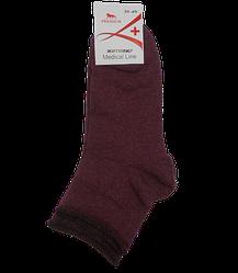 Шкарпетки медичні без гумки Medical Line 36-40 бордові
