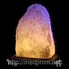 Соляная лампа Скала 4-5 кг цветная