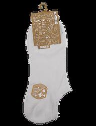 Шкарпетки короткі c силіконом 201 41-47 білі