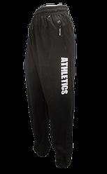 Спортивні чоловічі штани з кишенями 5XL чорні