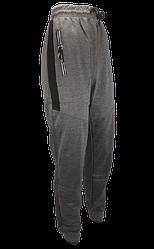 Спортивні чоловічі штани з кишенями 3XL сірі
